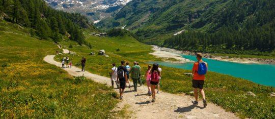Des vacances a la montagne