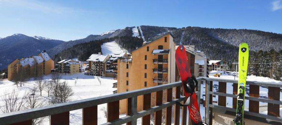 randonnées en ski de fond dans les Pyrénées